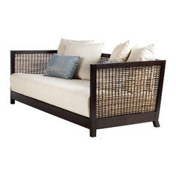 Kenneth Cobonpue - Kenneth Cobonpue Suzy Wong Sofa - Thissofais constructed of walnut or oak wood with woven abaca. Available two sizesin a high and low back.Manufactured byKenneth Cobonpuein The Philippines. Price includes delivery to theUSA.