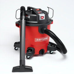 Craftsman XSP 12-Gallon 5½ Peak HP Wet/Dry Vac - Don't forget about cleaning up the garage or basement, or that messy DIY project.