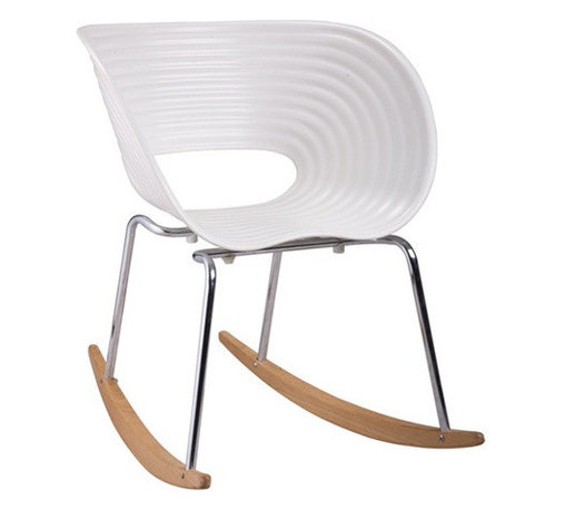 East End Imports - Vac Arm Rocker Chair White - This is contemporary art on rockers. And if you want a statement piece in your space, you just found it. As a conversation starter — or stopper, it will not be ignored.