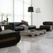 Modern Floor Tiles Porcelanosa Tiles Floor: Bardiglio Gris