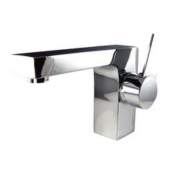 Fresca - Fresca FFT1053CH Isarus Single Hole Mount Bathroom Vanity Faucet - Chrome - Fresca FFT1053CH Isarus Single Hole Mount Bathroom Vanity Faucet - Chrome