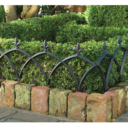 Aluminum Garden Fence (Set of Four)