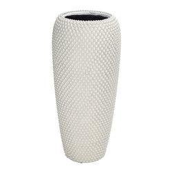 Cool and Unique Polystone Pearl Vase - Description: