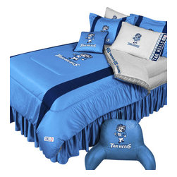 Store51 LLC - NCAA North Carolina Tar Heels Bedding College Football Bedding Set, Full - Features: