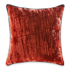 Tracy Porter - Tracy Porter Poetic Wanderlust Rose Boheme Michaila Square Toss Pillow - This Michaila toss pillow features a rich, spice color velvet that will give your bedroom's décor a sumptuous visual texture.