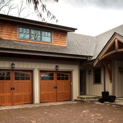 Carriage House Garage Doors - These beautiful Carriage House Garage Doors can be customized and installed by ADS Garage Systems