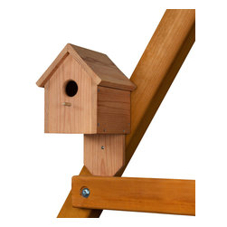Gorilla Playsets - Birdhouse - Have a nature lesson while out playing! The Birdhouse by Gorilla Playets is a great little house constructed perfectly for your children to experience nature while they play. The birdhouse comes with all hardware. Assembly is required.