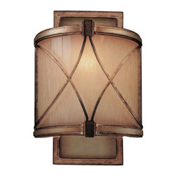 Minka-Lavery - Minka-Lavery Aston Court 1-Light Wall Sconce - This 1-Light Wall Light has a Bronze finish and is part of the Aston Court Collection.
