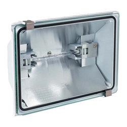 Globe Electric - Globe Electric 60522 500 Watt One Light Outdoor Halogen Security Light - Features: