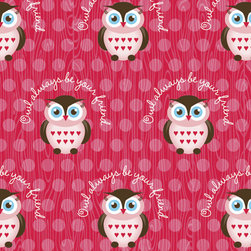 Murals Your Way - Owl Always Be Your Friend Wall Art - Painted by Simon & Kabuki, Owl Always Be Your Friend wall mural from Murals Your Way will add a distinctive touch to any room