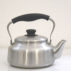 Stainless Steel Kettle - You can't have a kitchen without a kettle! This pretty one reminds me of days gone by.