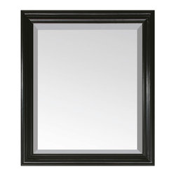 Avanity - Milano 30 in. Mirror - Easy to hang (horizontally or vertically), level and coordinate with any decor, this simply chic mirror reflects excellent taste. Place it over your bathroom sink for a splash of understated elegance.