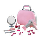 KidKraft - Beauty Take Along Case - Pink by Kidkraft - Young girls will feel all grown up when they play with our Beauty Case Play Set. It�s so much fun to do hair and makeup.