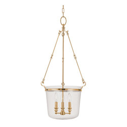 Hudson Valley Lighting - Hudson Valley Lighting 133-AGB Quinton Aged Brass Pendant - Hudson Valley Lighting 133-AGB Quinton Aged Brass Pendant