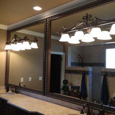 Bathroom Mirrors by Frame It! Mirror Designs