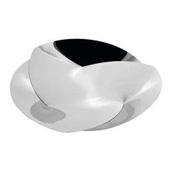 "Alessi - Alessi ""Resonance"" Centerpiece - This stunning centerpiece makes a captivating addition to your dining or coffee table. Admirers are sure to study it as they sit, mesmerized at how this interconnected innovation came to be."