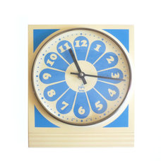 Modern Kids Clocks by Etsy