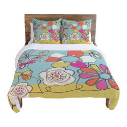 On Sale Fun Floral Duvet Cover