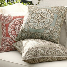 mediterranean outdoor pillows by Pottery Barn