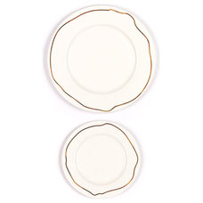 Contemporary Dinner Plates by Julie Thigpen