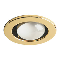 Dainolite - Dainolite DL400-PB Polished Brass Trim Only Open Type Use With Dl4000 Housing - Dainolite DL400-PB Polished Brass Trim Only Open Type  Use With DL4000 Housing