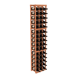 Wine Racks America - 3 Column Magnum/Champagne Wine Kit in Redwood, (Unstained) Redwood - Easy to expand or add to an existing cellar, this Magnum wine racking kit is designed for ultimate flexibility. Our specialized magnum rack accommodates 2 whole cases of abnormally shaped bottles, and then some! We promise this rack will stand up to the test of time.