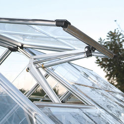 Palram - Palram Vent Arm Kit for Snap and Grow Greenhouses - The Palram Vent Arm Kit is engineered specifically to replace the manual vent arm in the Palram greenhouse. This kit allows the vent arm to automatically open at warm temperatures and close when the temperature cools.