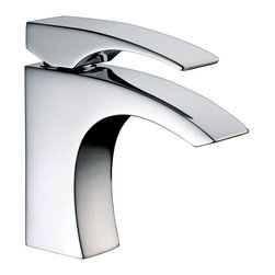 CAE - CAE Centerset Chrome Finish Bathroom Sink Faucet - This modern bathroom sink faucet from CAE offers outstanding performance, simplified installation and ease of cleaning. With a custom-designed lever and a durable chrome finish, it tastefully complements both classic and contemporary decor.