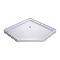 "DreamLine - DreamLine DLT-2036360 SlimLine Shower Base - DreamLine SlimLine 36"" by 36"" Neo Shower Base"