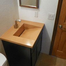 Modern Bathroom Sinks by ConcretePete LLC