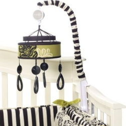 Cocalo - CoCaLo Couture Harlow Musical Mobile - Your little one will be gently lulled to sleep with this adorable musical mobile. It turns and plays Rock a Bye-Baby Lullaby plus it's the perfect coordinate for your baby's Harlow nursery.