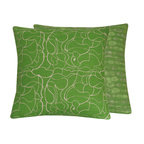 Green with Envy Throw Pillow Collection l Chloe & Olive - Chloe & Olive