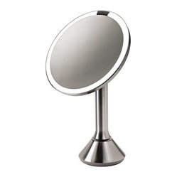 simplehuman Sensor Activated Lighted Makeup Mirror