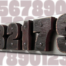 Eclectic House Numbers by Moda Industria