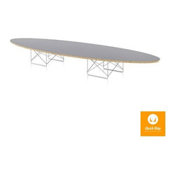 Herman Miller - Herman Miller | Eames® Elliptical Table - Quick Ship - Design by Charles & Ray Eames, 1951.