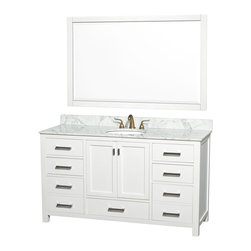 White Bathroom Vanities - There are more than a few very popular types of Traditional White Bathroom vanities at any given time, generally in line with the styles of the day, but one type looks to remain as prevalent as it has ever been amongst buyers. White Bathroom Vanities has a universal charm for the reason that it is different and can improve up what would then be a dark and discolored bathroom.