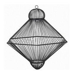 Modern LOUIS IronLine Pendant Lighting in Baked Finish -