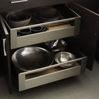 Omega Metal Drawers and Roll Trays -