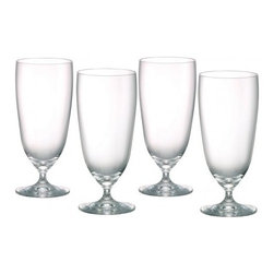 Waterford - Marquis by Waterford Vintage Crystal Iced Beverage, Set of 4 - Clean and contemporary, the Vintage Entertaining Collection from Marquis by Waterford is characterized by modern styling and full-bodied elegance.