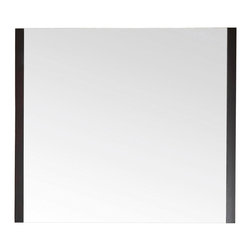 Avanity - Loft 36 in. Mirror - If simple and sleek is your decor ethos, this is your ideal bathroom mirror. Framed on two sides instead of four, it gives your space unfussy style.