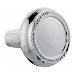 "Renovators Supply - Door Knobs Bright Chrome Braided Door Knob Pair | 92508 - Door Knobs: This pair of chrome braided edge door knobs comes complete with a precision machined 1/4"" square spindle. The knob has a 2 1/4"" diameter."