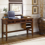 WorkSpace and Home Office | Smart Furniture - The Mercantile Credenza is the perfect classic desk with elegant traditional details.