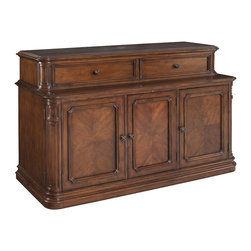 Banyan Creek XL TV Lift Cabinet - Finished in a warm brown which highlights the quality of the wood grain, the Banyan Creek XL lcd / flat screen / plasma lift TV lift console is a synonym for the finest of luxury and home entertainment sophistication. TV not included.