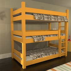 Traditional Kids Beds by Maine Bunk Beds