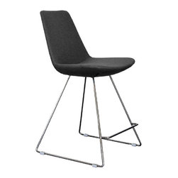 Eiffel Wire Stools by sohoConcept - If you are a big fan of wire stools then you have to check out the Eiffel. This one has it all--wire base, comfortable upholstered seat and of course, amazing good looks. See what you think.