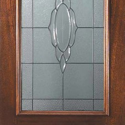 "Prehung Entry Single Door 80 Mahogany Cameo 2 Panel Arch Lite Glass - SKU#    L06522-DLAC1Brand    GlassCraftDoor Type    ExteriorManufacturer Collection    Arch Lite Entry DoorsDoor Model    CameoDoor Material    WoodWoodgrain    MahoganyVeneer    Price    1705Door Size Options    36"" x 80"" (3'-0"" x 6'-8"")  $0Core Type    Door Style    Door Lite Style    Arch LiteDoor Panel Style    2 PanelHome Style Matching    Door Construction    LegacyPrehanging Options    PrehungPrehung Configuration    Single DoorDoor Thickness (Inches)    1.75Glass Thickness (Inches)    Glass Type    Triple GlazedGlass Caming    Satin NickelGlass Features    Tempered , BeveledGlass Style    Glass Texture    Glass Obscurity    Door Features    Door Approvals    Wind-load Rated , FSC , TCEQ , AMD , NFRC-IG , IRC , NFRC-Safety GlassDoor Finishes    Door Accessories    Weight (lbs)    310Crating Size    25"" (w)x 108"" (l)x 52"" (h)Lead Time    Slab Doors: 7 Business DaysPrehung:14 Business DaysPrefinished, PreHung:21 Business DaysWarranty    One (1) year limited warranty for all unfinished wood doorsOne (1) year limited warranty for all factory?finished wood doors"