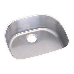 Elkay - Elkay Dayton Undermount Kitchen Sink, Stainless Steel (DXUH2118) - Elkay DXUH2118 Dayton Undermount Kitchen Sink, Stainless Steel