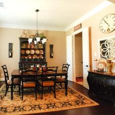 Traditional Dining Room by Devdan Interior Designs