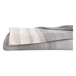 Area Inc. - Ruben Neutral King Coverlet - Area Inc. - Earth tones and irregular yarn-dyed stripes give the Ruben Neutral King Coverlet its natural, subdued look. Made from 100% cotton, this lightweight coverlet makes a chic addition to warm weather bedding sets. Pair it with similar neutral colors for a cohesive feel.