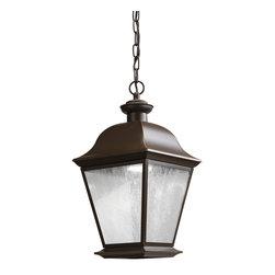 Kichler LED Outdoor Hanging Pendant - Olde Bronze Exterior - LED Outdoor Hanging Pendant